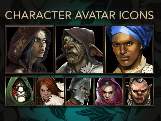 Fantasy Characters Icons Pack