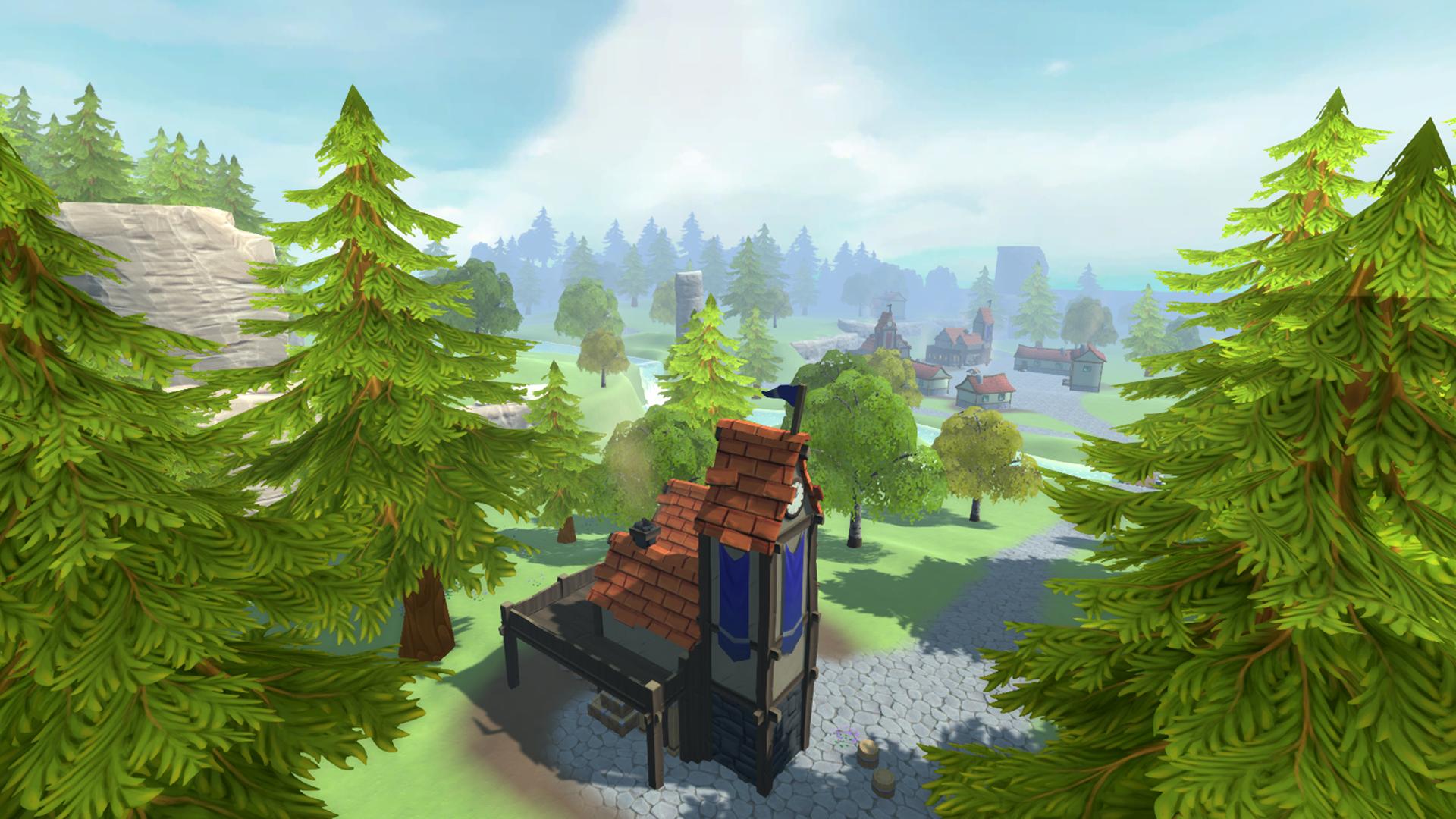 Scene for mobile RPG. Progress 30%