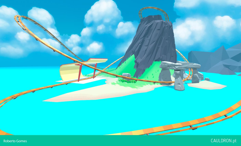 Cauldron's Island | VR Roller Coaster