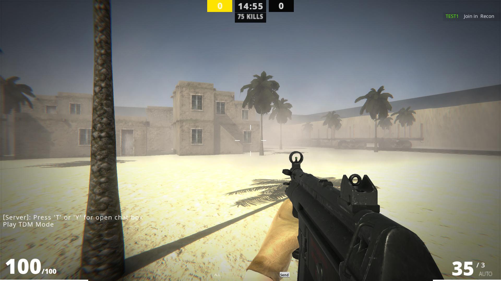 Multiplayer fps: Schooter
