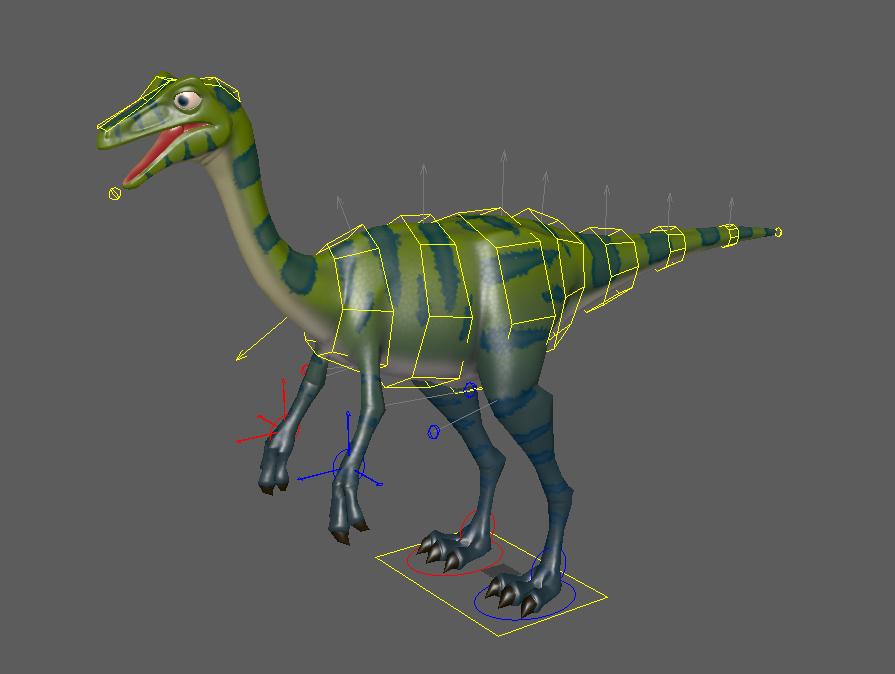 Dinosaur game protoype