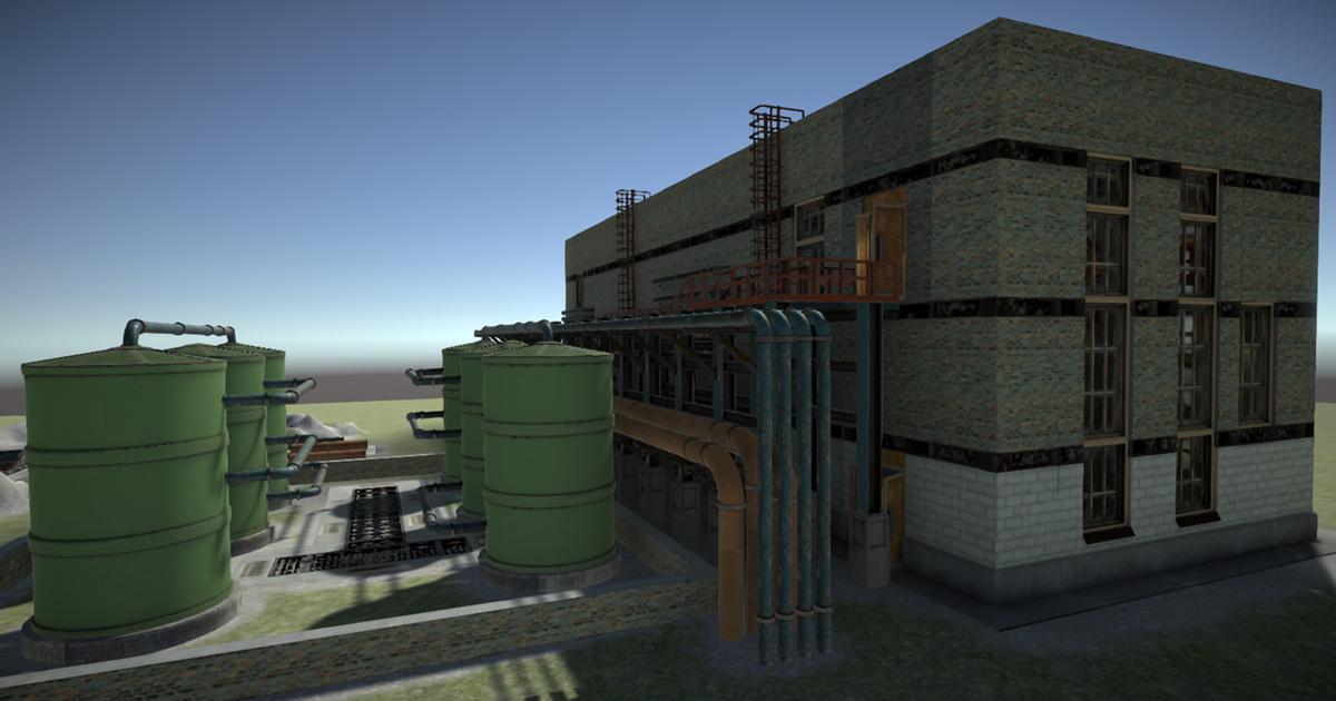 Modular factory environment B