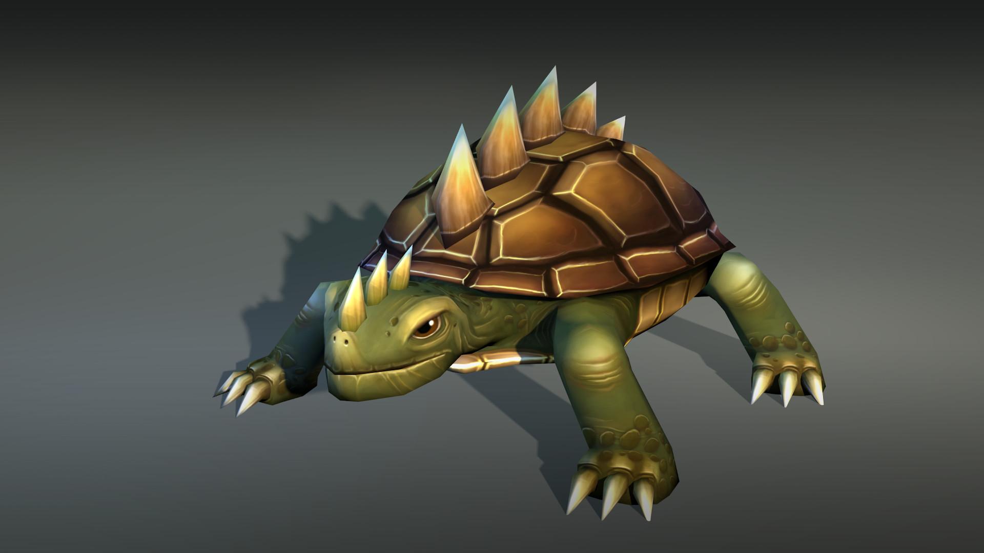 Low-poly Handpainted Turtles