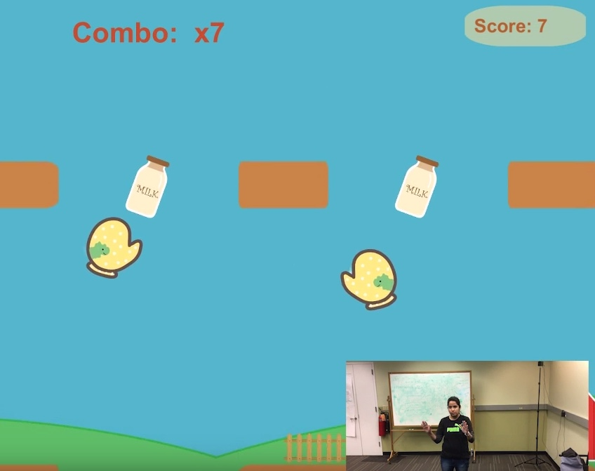Kinect Game - Milk for Baby