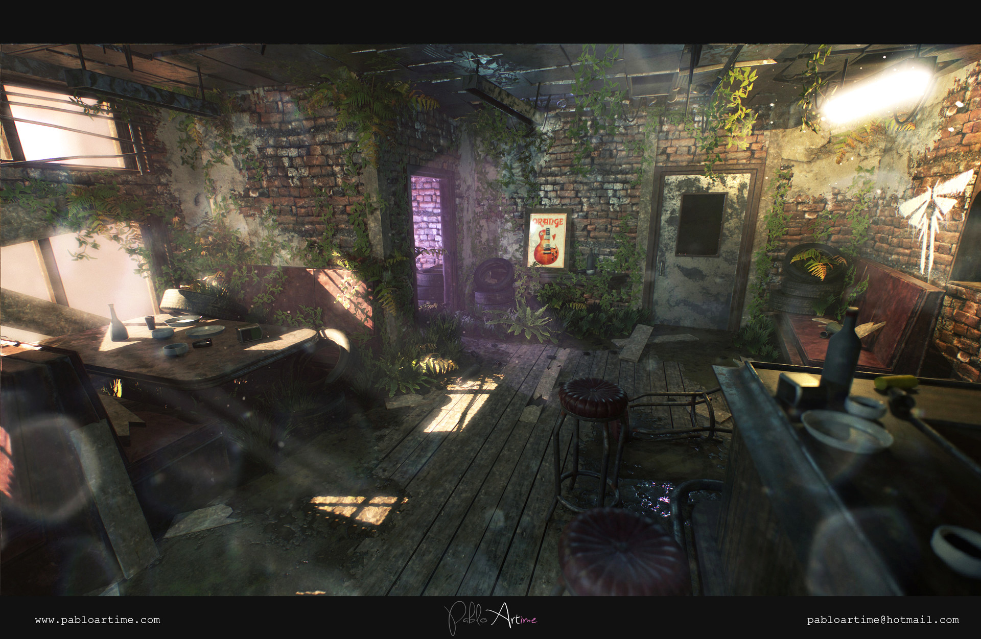 Last Of Us Style Bar
