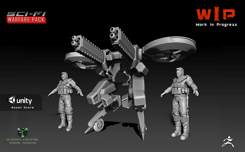 Sci-fi Warfare Pack [WIP]