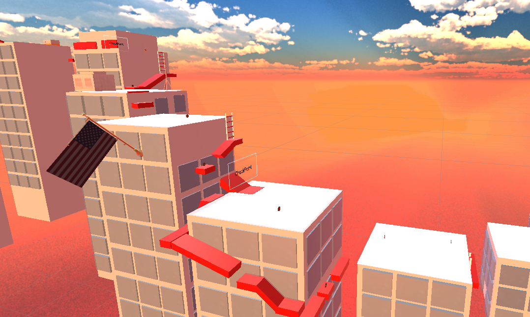 Rooftop Rush VR