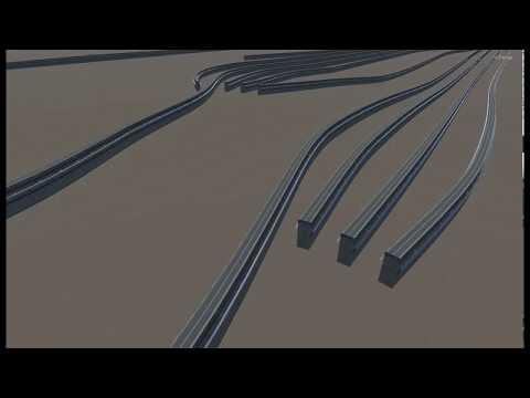 Procedural Monorail Track Generation