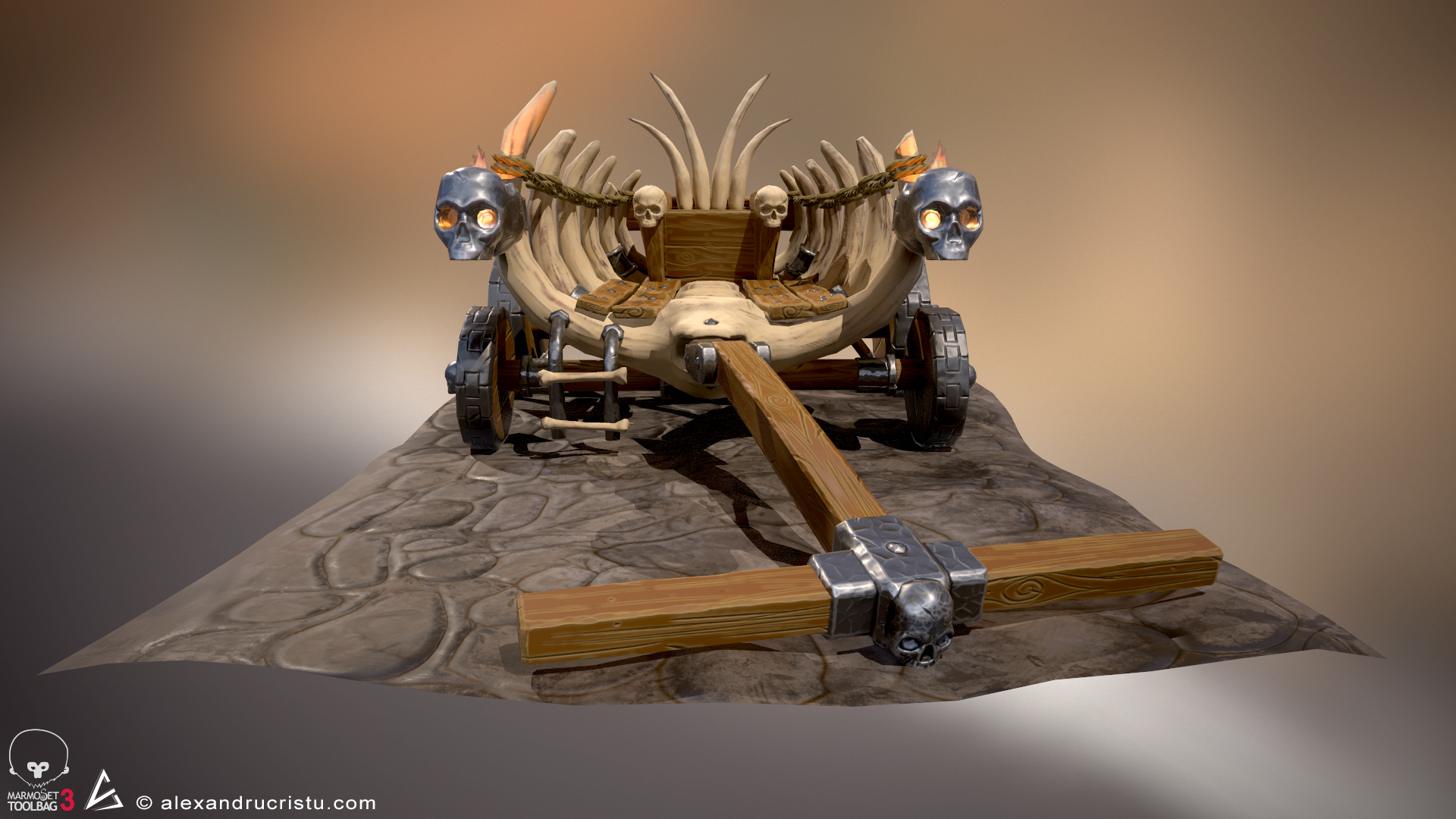 Stylized Bone Wagon
