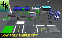 Low Poly Simple City