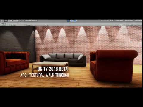 Apartment Modeling | Unity 2018