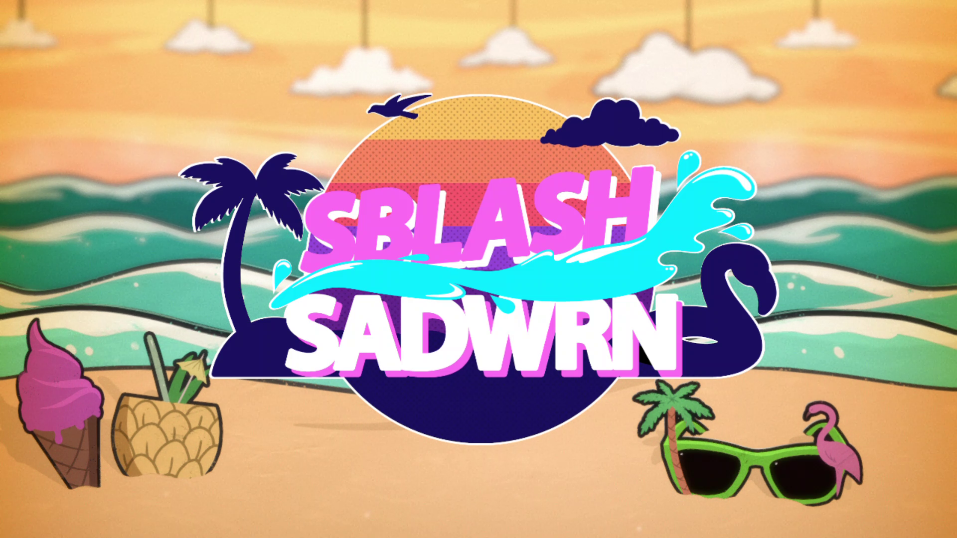 Thud Media - Sblash Sadwrn (Live TV studio game)