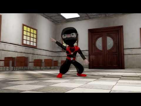 3D Ninja Character Design