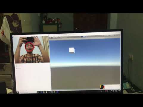 Open CV Face Detection with Unity