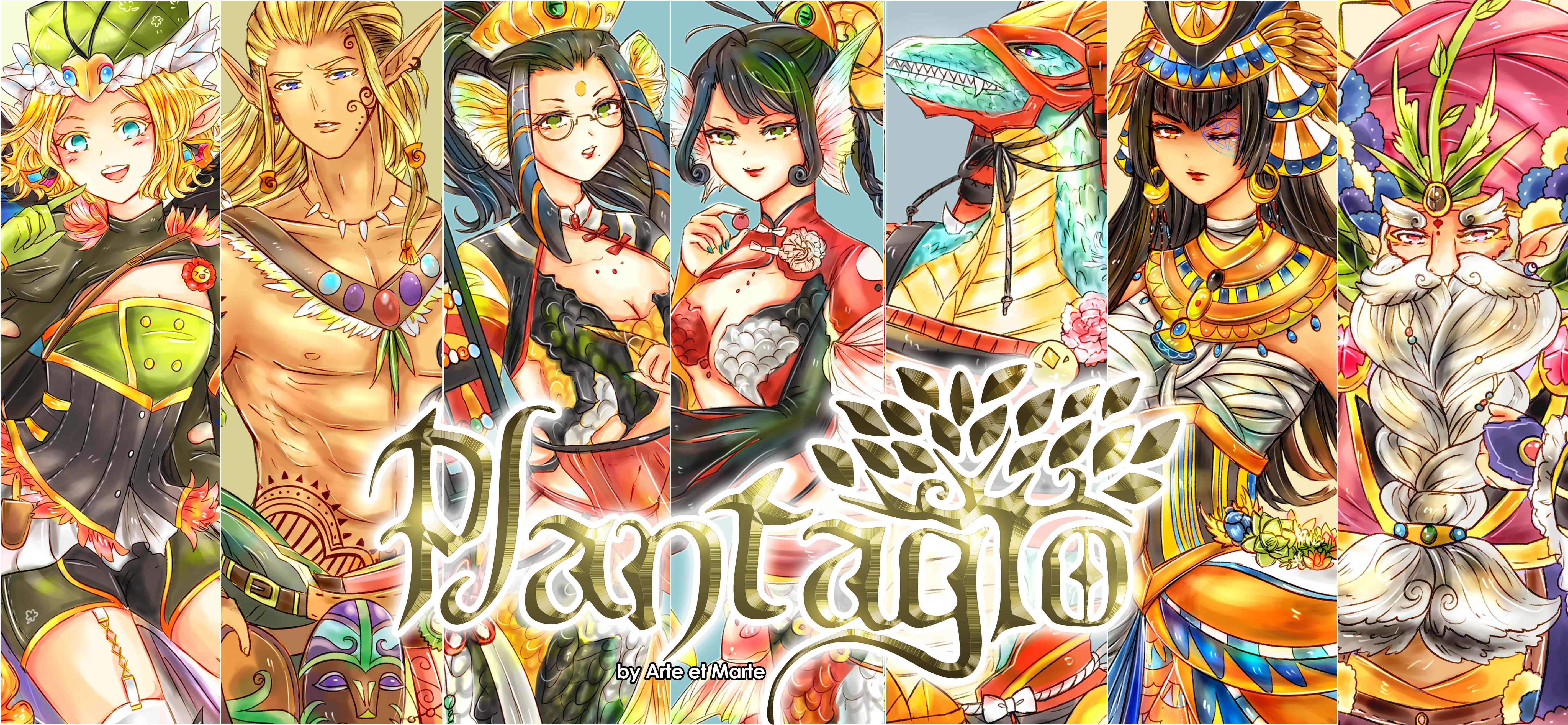 Plantagio Characters