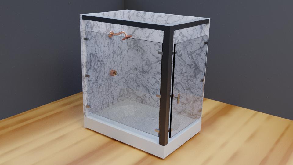 Bathroom Shower Asset