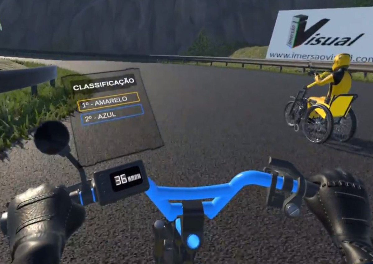 VR Wheelchair Race