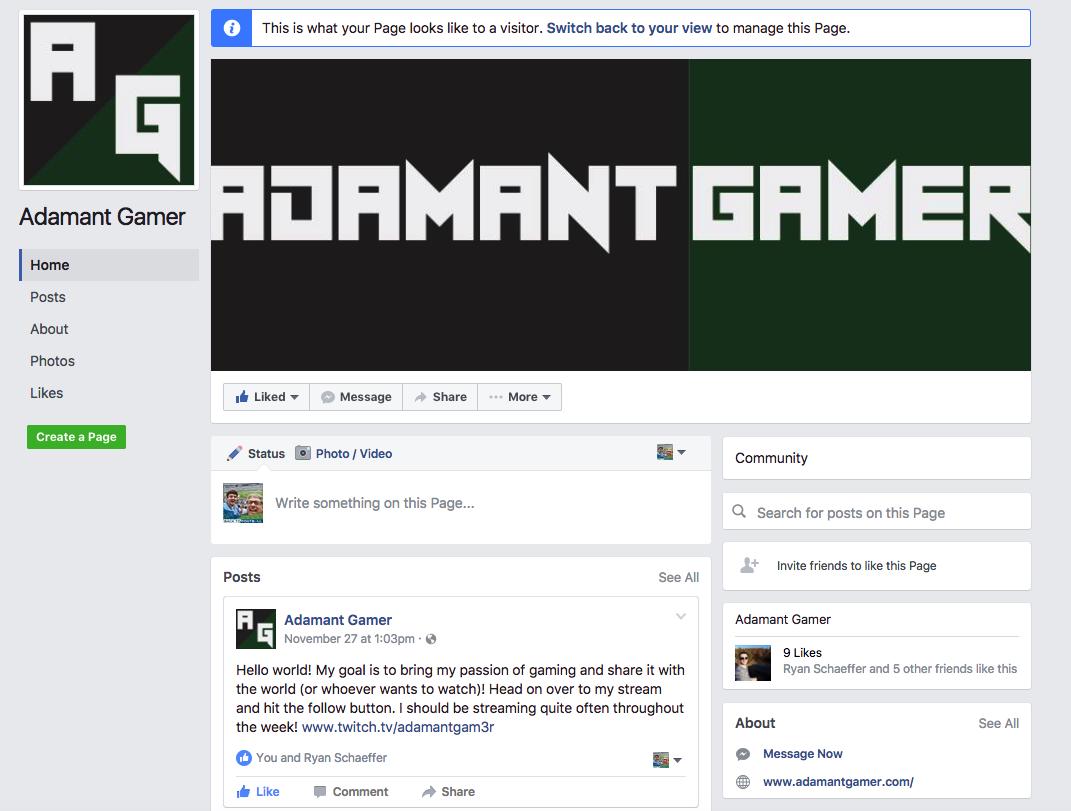 Adamant Gamer