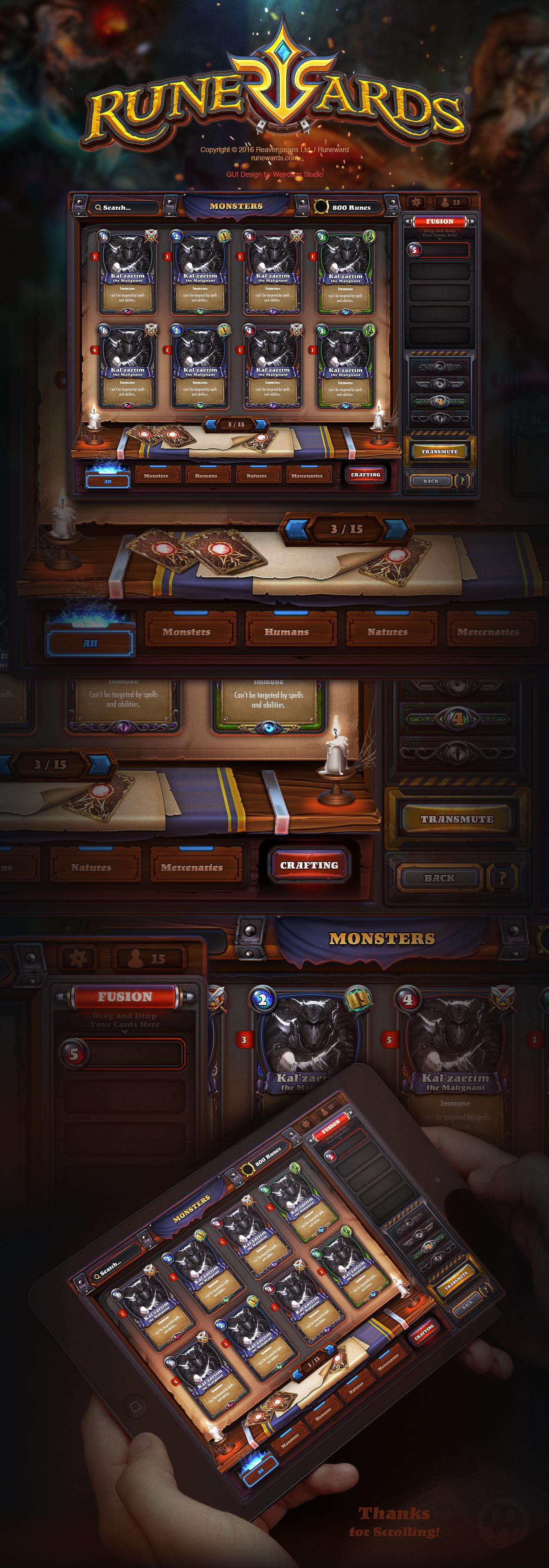 Runewards: Deck Builder