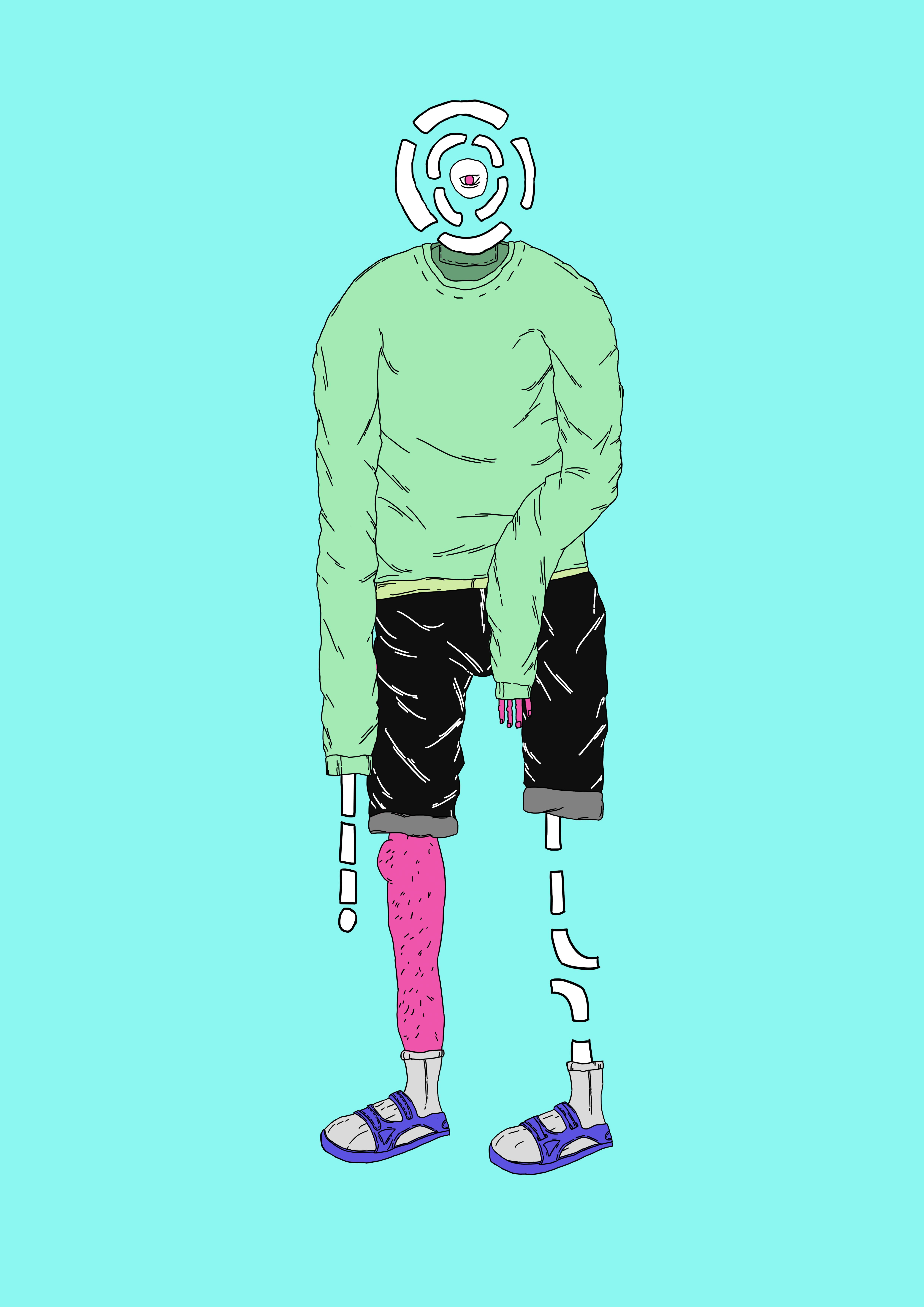 Stylized man