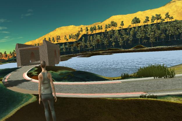 Virtual Run in the Park