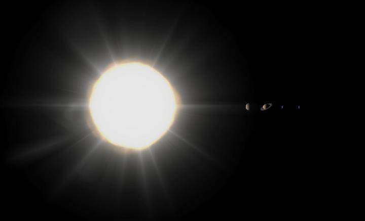 Neutron Solar System