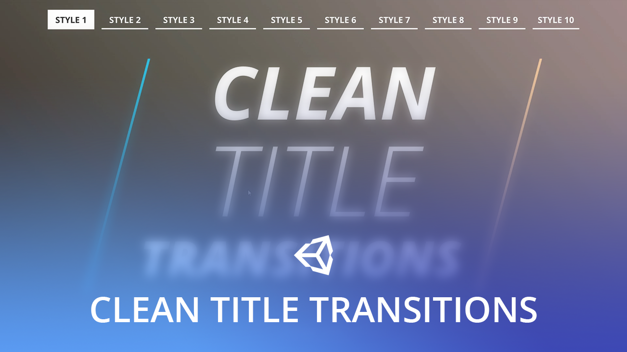 Clean Title Transitions