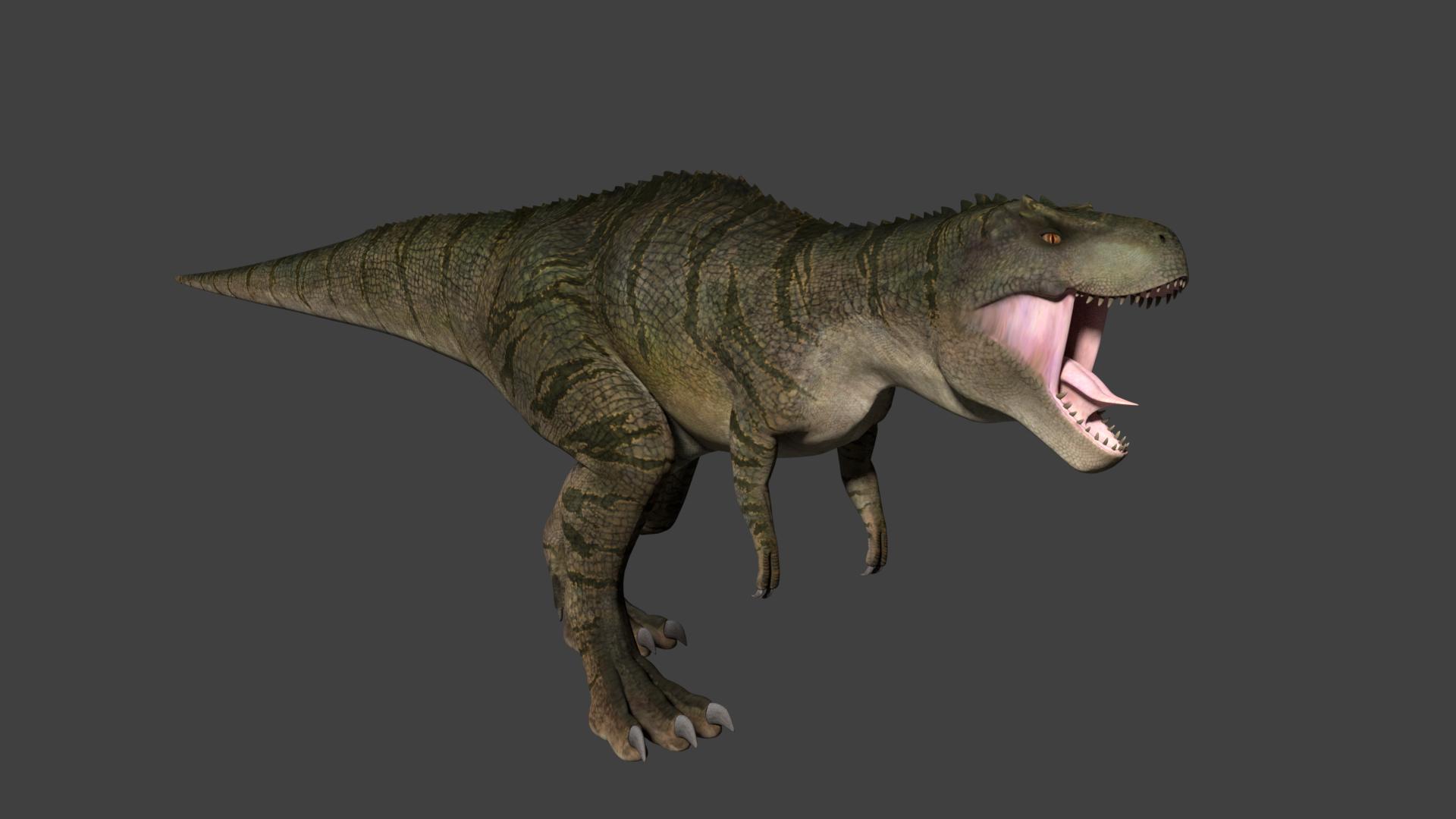 Dinosaur(T-Rex) Unity Asset