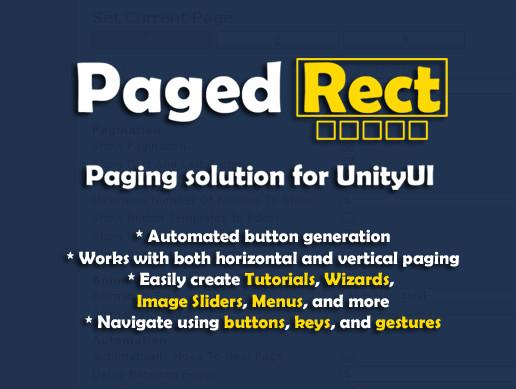 PagedRect - Paging Solution for UnityUI
