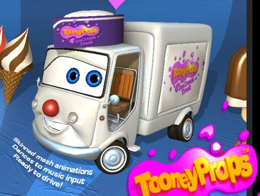IceCream Truck Character Kit