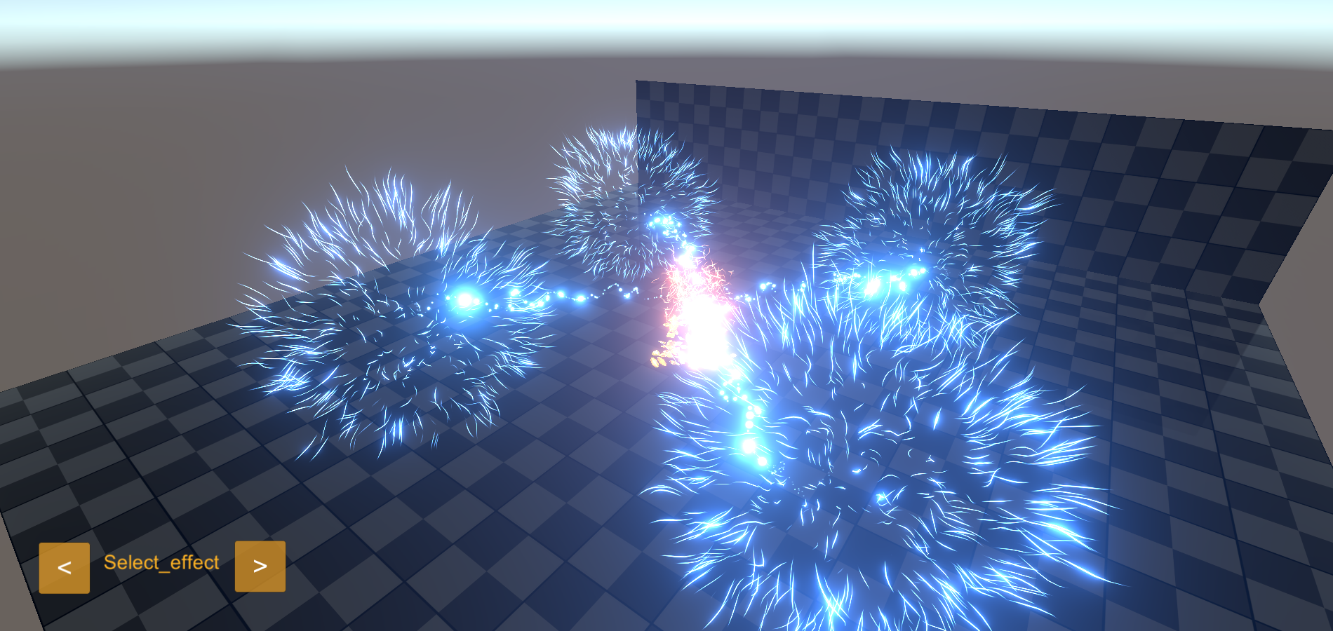 Crystal Effects package for Unity Asset Store