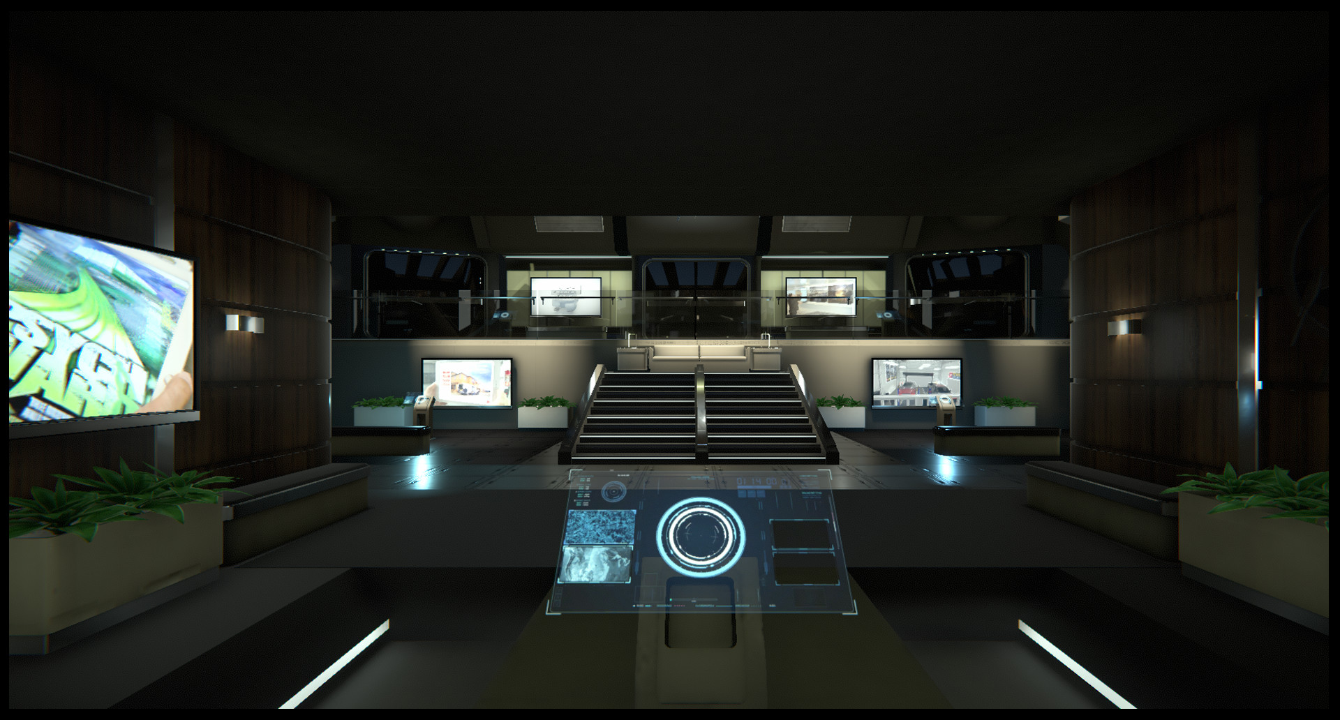 Scifi Presentation Environment