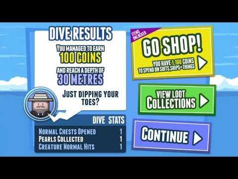 Обзор игры на Андроид от Cosmos3D: Deep loot