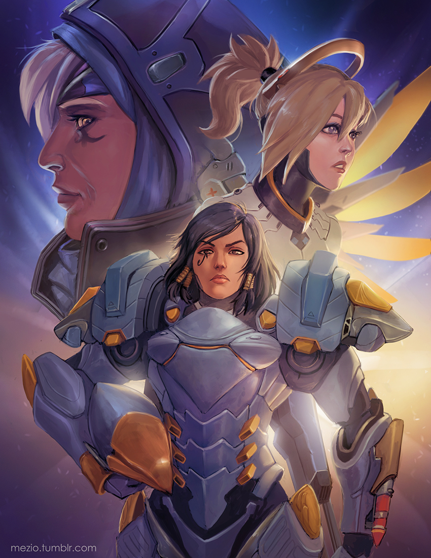 Overwatch Illustrations