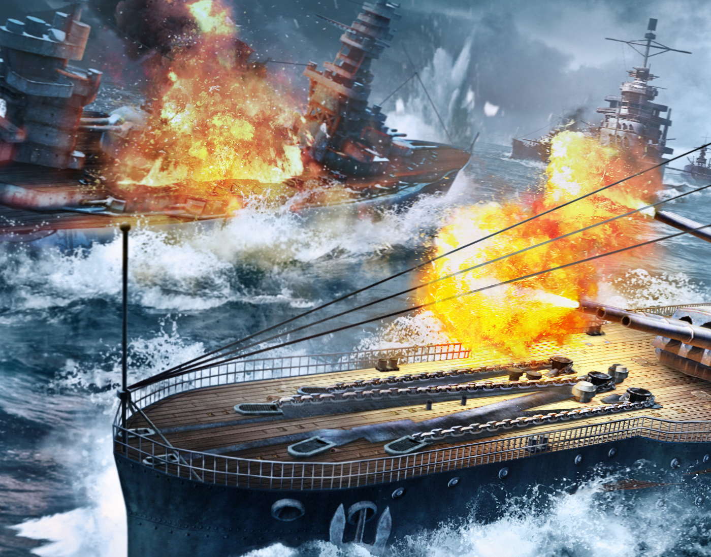 BATTLESHIP — Key art illustaration (+ Breakdown)