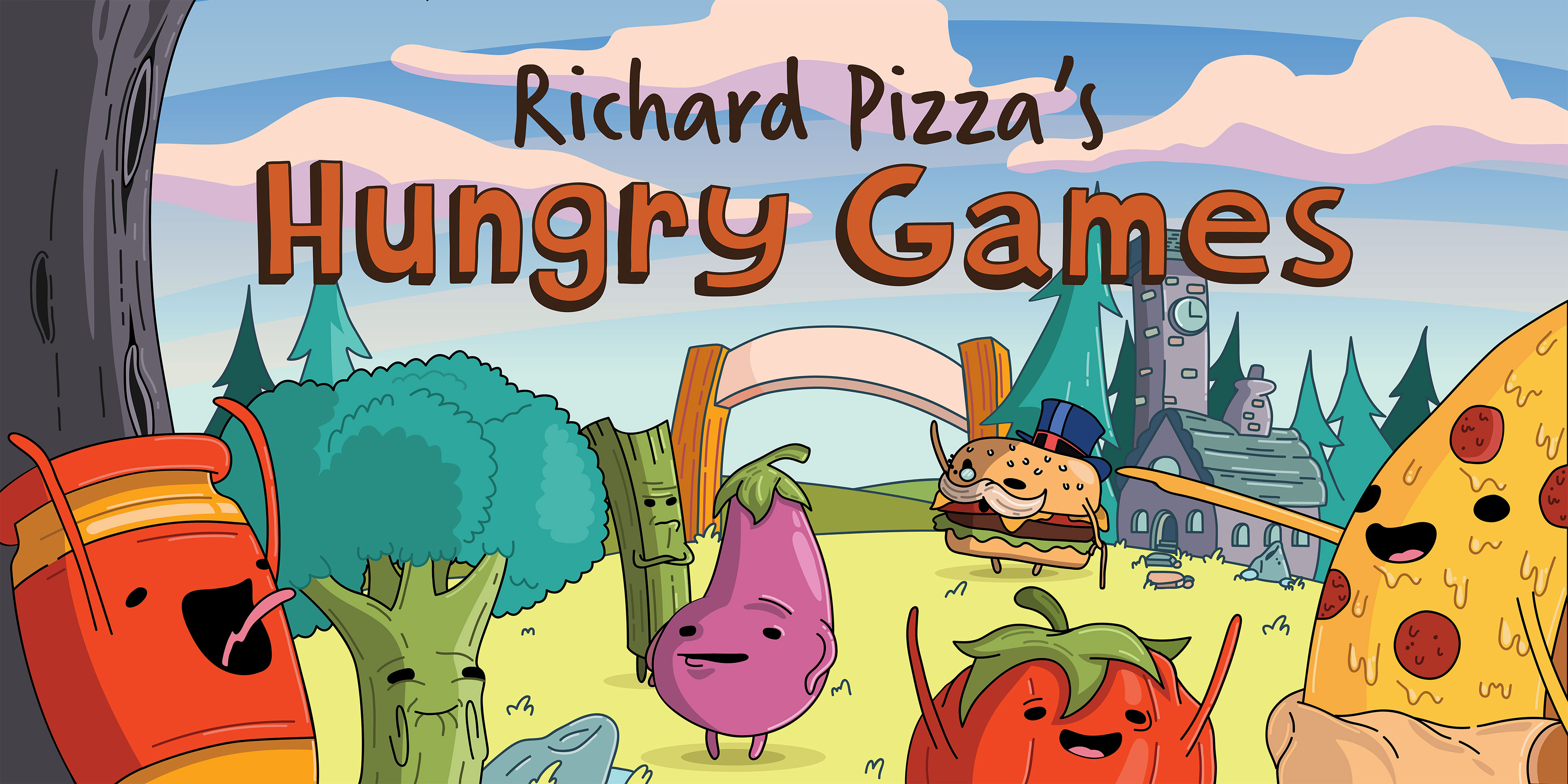 Richard Pizza's Hungry Games
