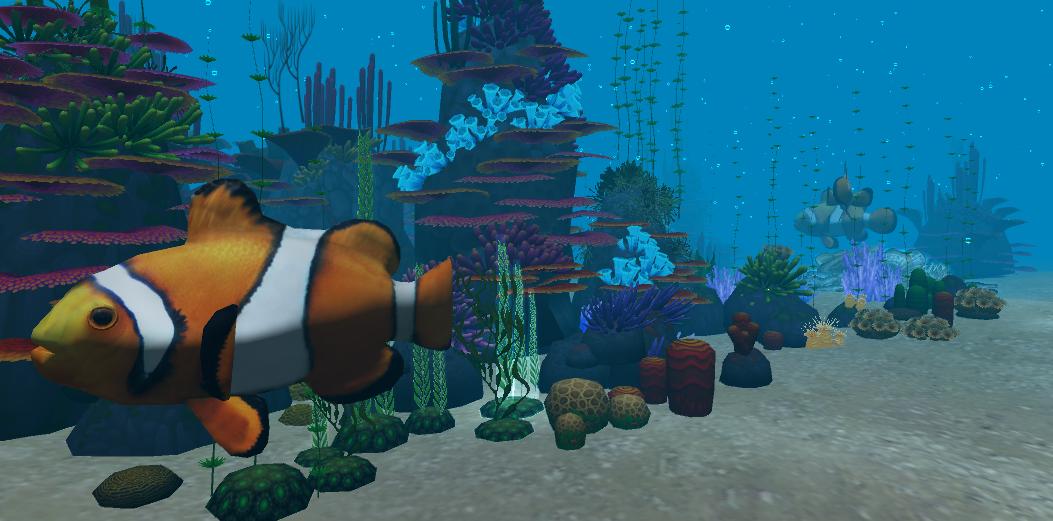 基于VR的海洋模拟