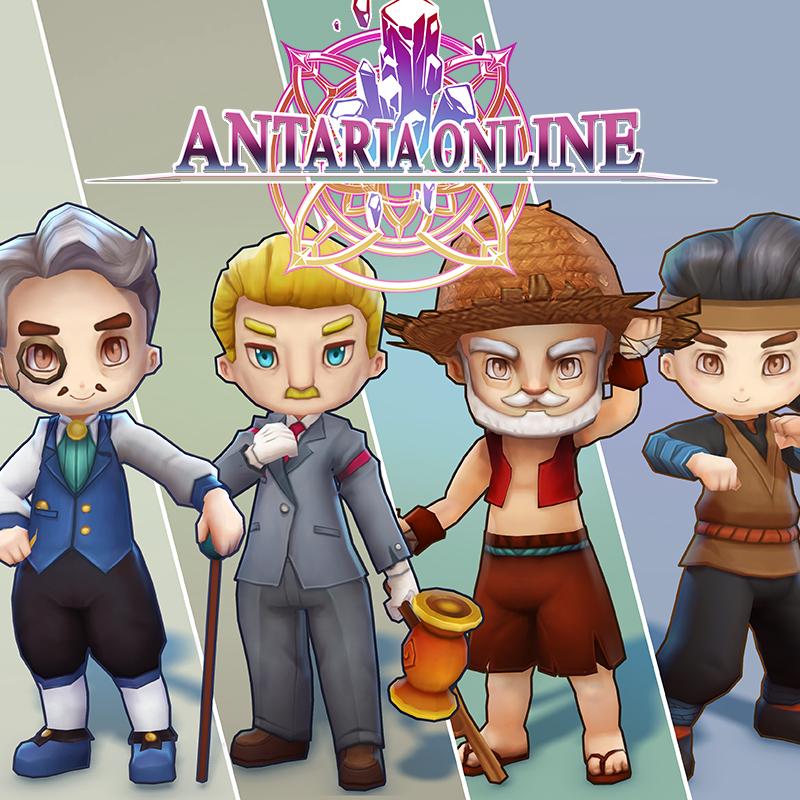 Antaria Online - NPC Character Set