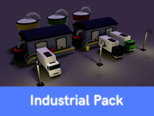 Low Poly Industrial Pack