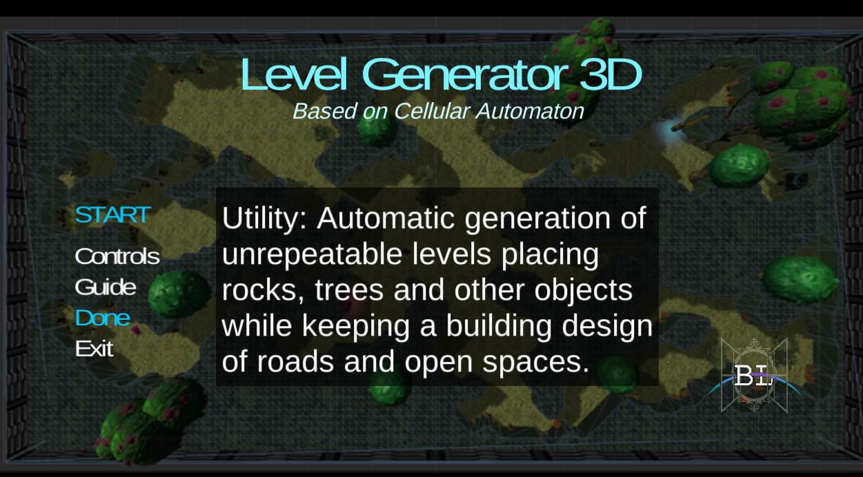 Demo Level-generator-3d