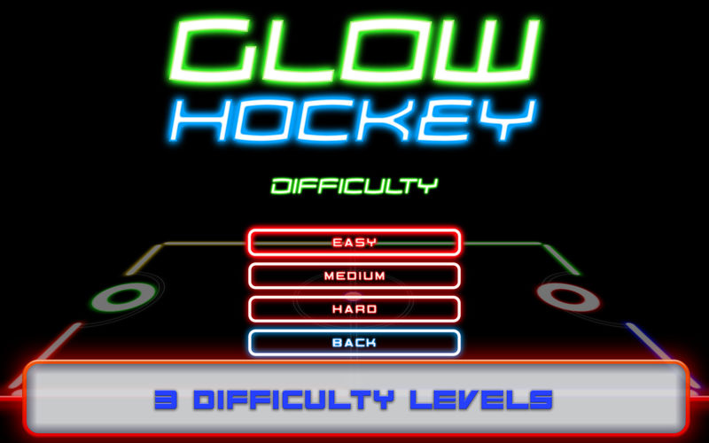 Glow Air Hockey / Desktop