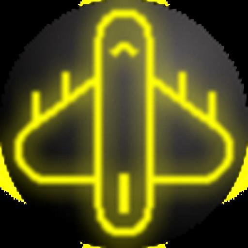 Jet Fighter Neon
