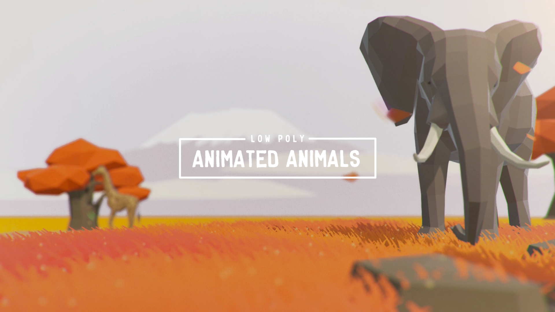 Low Poly Animated Animals
