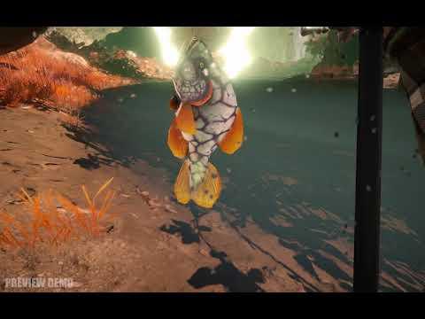Sci-Fi VR Fishing Galaxy