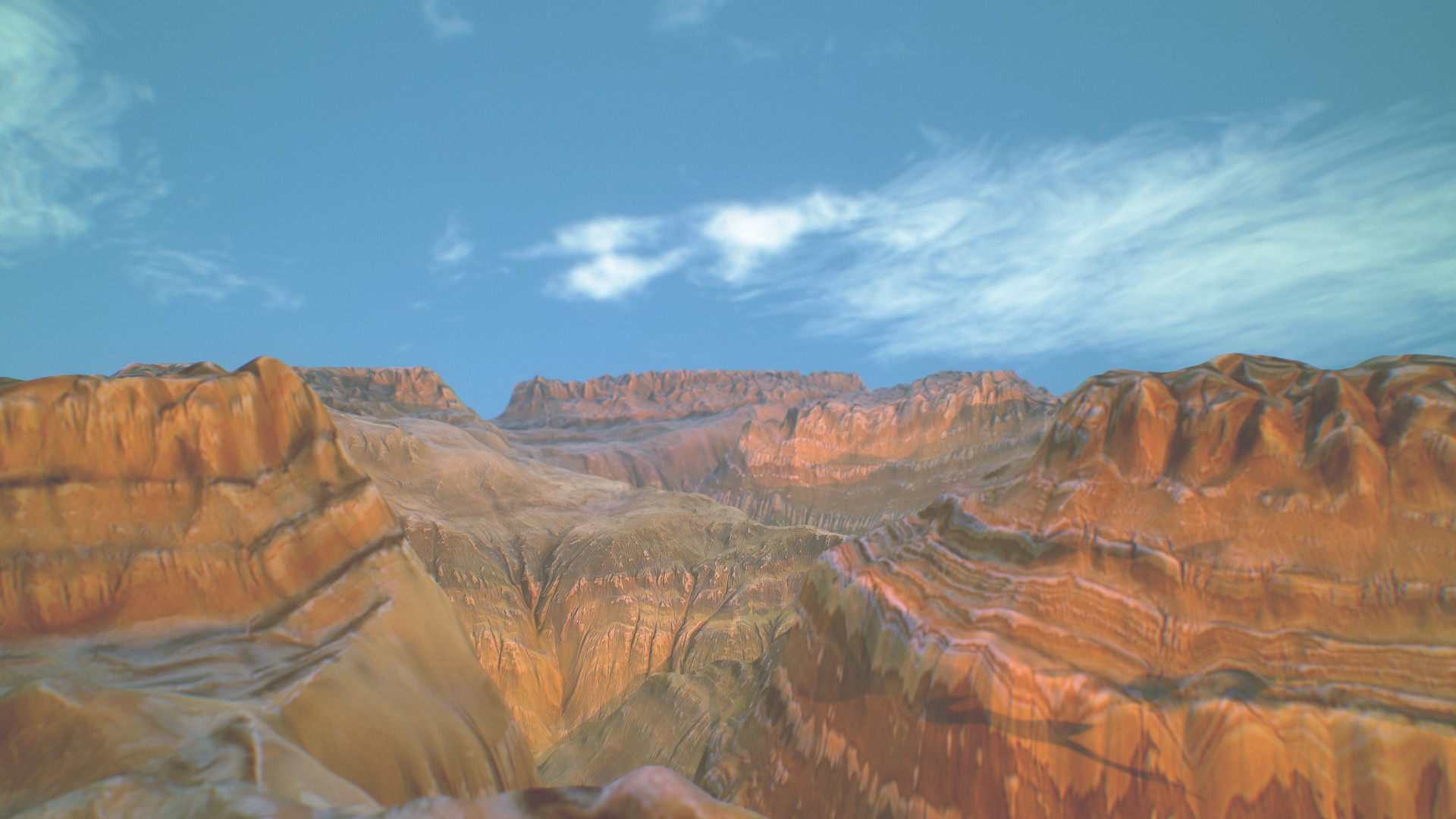 Cinematic Canyon Landscape - canyonized