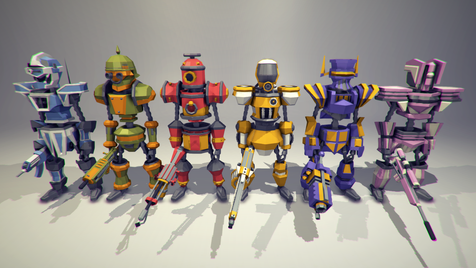 POLY STYLE - Sci-Fi Characters