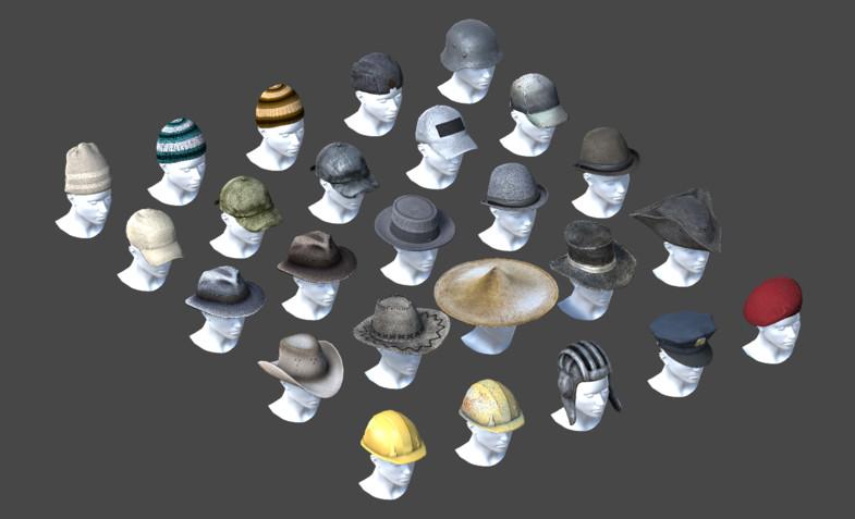 HQ Hats Pack