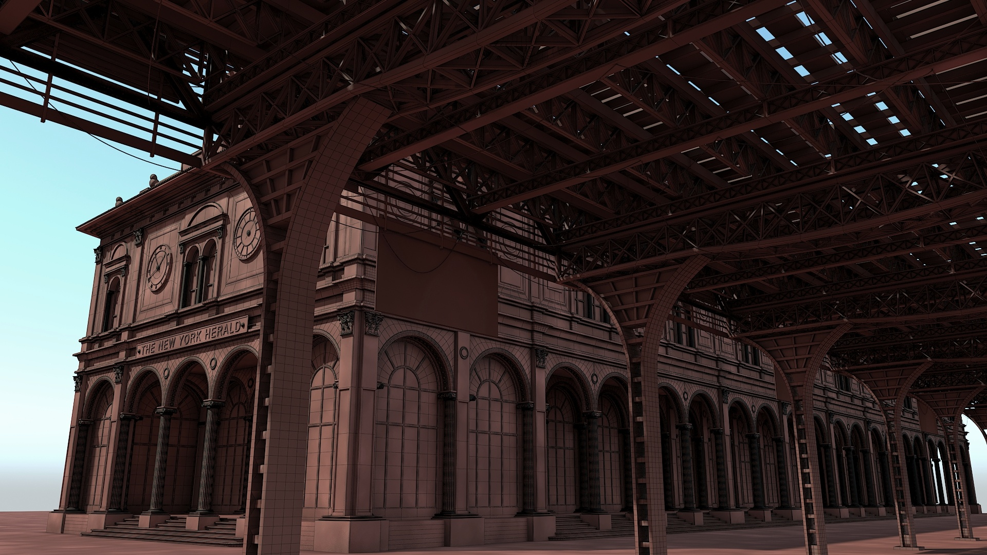 Architectural visualization | Old buildings