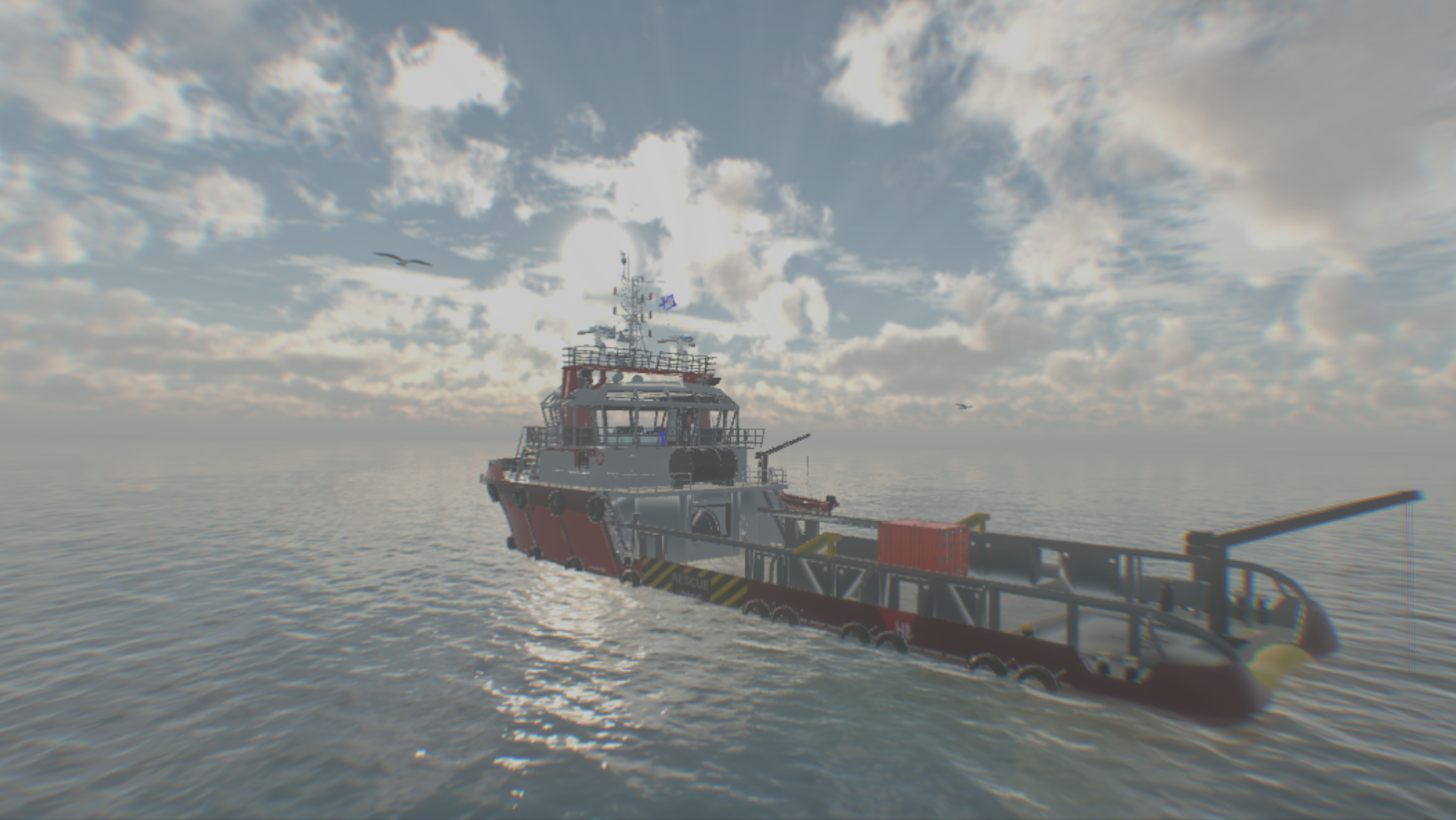 Ship simulator VR (Gameplay HTC Vive)