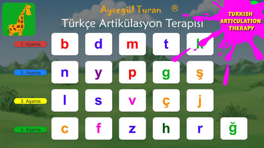 Turkish Articulation Therapy